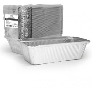 Алюминиевая форма L-край - 217 х 113 х 53 мм, 865 мл