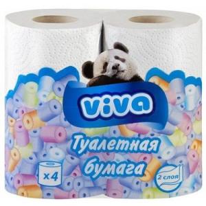 """Бумага туалетная """"VIVA"""" 2 слойная"""