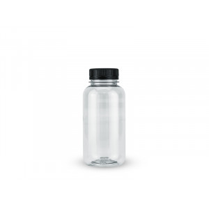 Бутылка ПЭТ 0,25л прозрачная с крышкой 38мм
