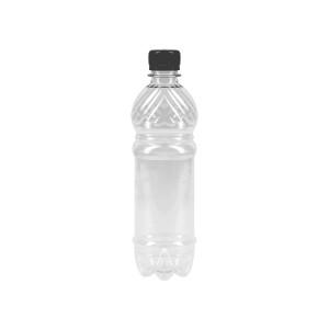 Бутылка ПЭТ 0,5л прозрачная с крышкой