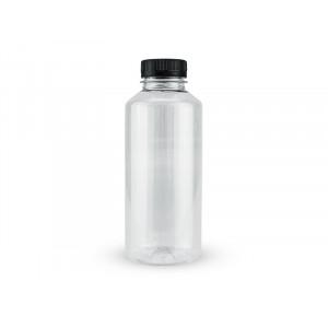 Бутылка ПЭТ 0,5л прозрачная с крышкой 38мм