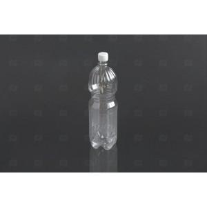 Бутылка ПЭТ 1,5л прозрачная с крышкой