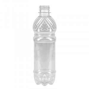Бутылка ПЭТ 1л прозрачная с крышкой 38мм