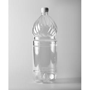 Бутылка ПЭТ 2л прозрачная с крышкой
