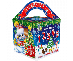 """Кубик большой """"Искорка"""""""