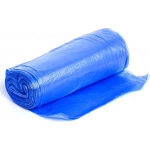 Мусорные мешки 35л*20шт с завязками высокопрочные синие