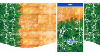 Скатерть рулонная ПВД 120х160см 35 мкм