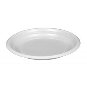 Тарелка плоская D170 мм белая Эконом (Атлас)
