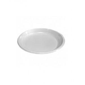 Тарелка бессекционная D-220мм белая (Интеко)