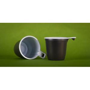 Чашка кофейная 200мл двухцветная (Упакс-Юнити)