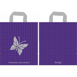 30x34 Бабочка фиолетовый