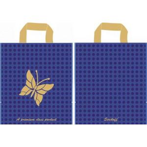 30x34 Бабочка синий