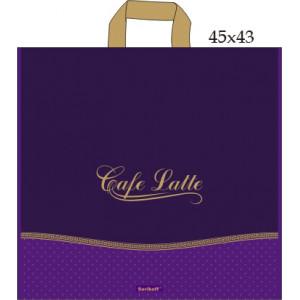 45x43 Кафе фиолетовый