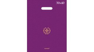Serikoff Пакет ПВД с прорубной ручкой 30*40см 90 мкм
