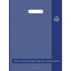 45x52 Соты синие