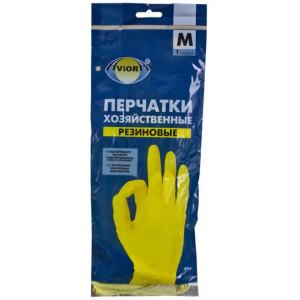"""Перчатки резиновые М""""AVIORA"""""""