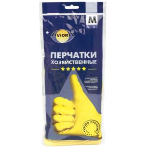 """Перчатки резиновые S """"AVIORA"""""""