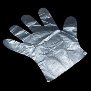 Перчатки полиэтиленовые L