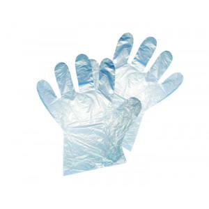 Перчатки полиэтиленовые М