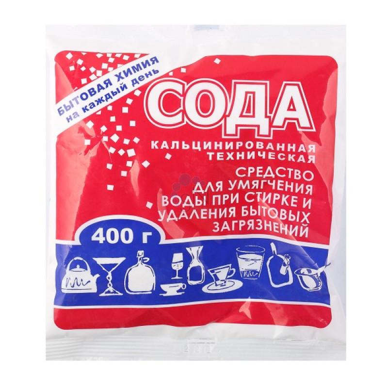 Сода кальценированная 400гр